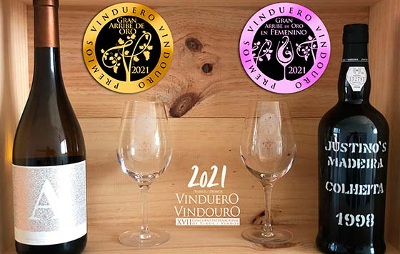 Tecnovino mejores vinos de Espana y Portugal Premios Vinduero Vindouro