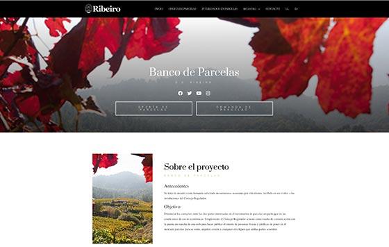 Tecnovino web banco de parcelas de viñedo DO Ribeiro