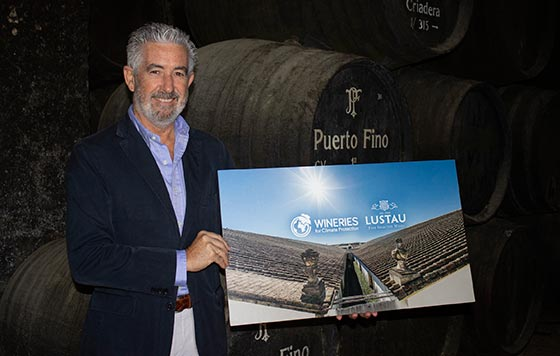 Tecnovino Bodegas Lustau Wineries for Climate Protection detalle