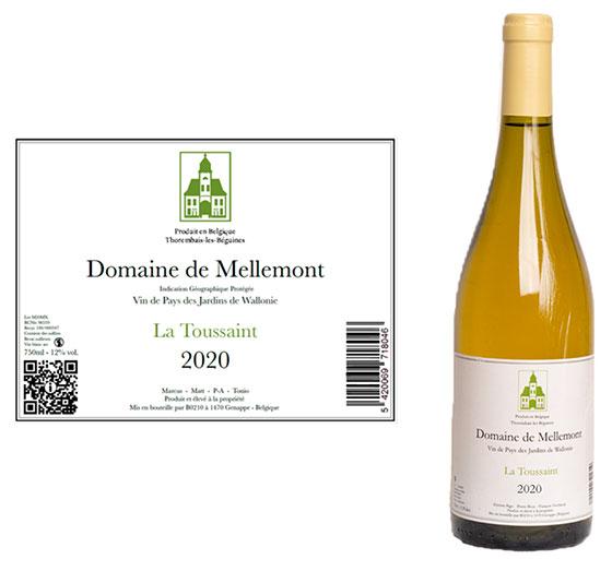 Tecnovino etiquetado digital de vino U-Label Domaine de Mellemont