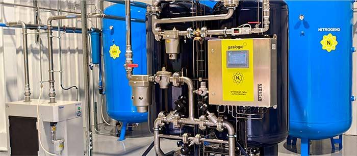 Tecnovino nitrógeno en el proceso de vinificación Gaslogic 1