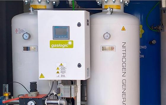 Tecnovino nitrógeno en el proceso de vinificación Gaslogic detalle