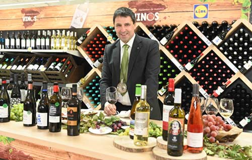 Tecnovino vinos de Lidl Jon Andoni Rementeria detalle